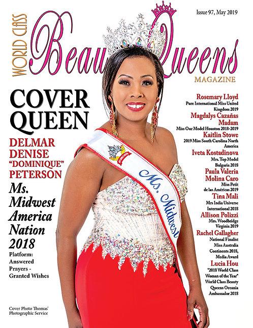 Issue 97 World Class Beauty Queens Magazine