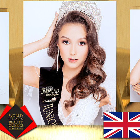 Sasha Star Junior Miss diamond UK 2019