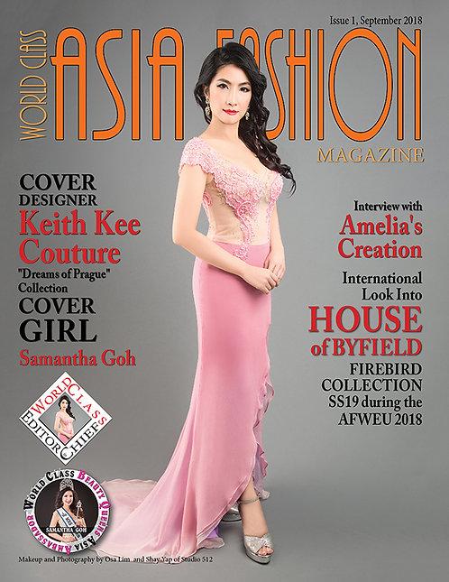 Issue 1 World Class Asia Fashion Magazine