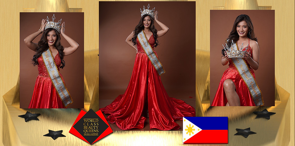 Marie Abigael Abalos-Bayuga Mrs. Philippines National Universe 2019, World Class Beauty Queens Magazine, Photographer: Edmund Ong Chua II HMUA/Stylist: Gandara Anore & Abby De Lute