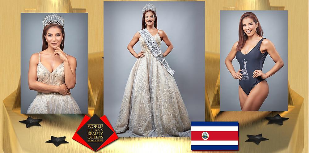 Karol Uzaga Valerín, Mrs. Universe Costa Rica 2015, World Class Beauty Queens Magazine, Photo by OSO/Hormiguero Fotografia