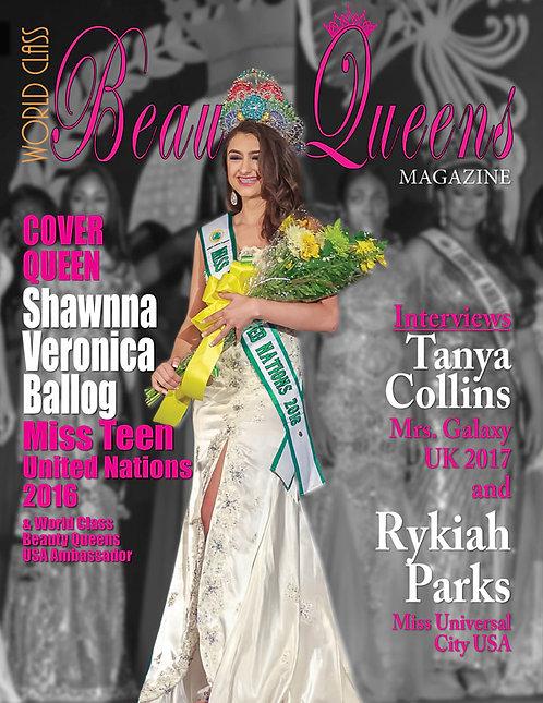 Issue 15 World Class Beauty Queens Magazine