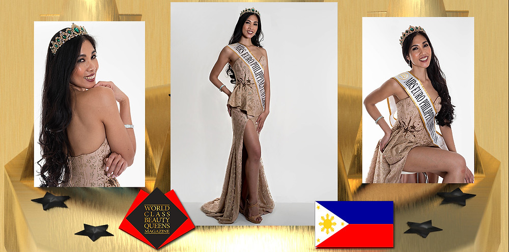 Catherine Valdez-Grede Mrs. Euro-Philippines Universe 2019, World Class Beauty Queens Magazine,