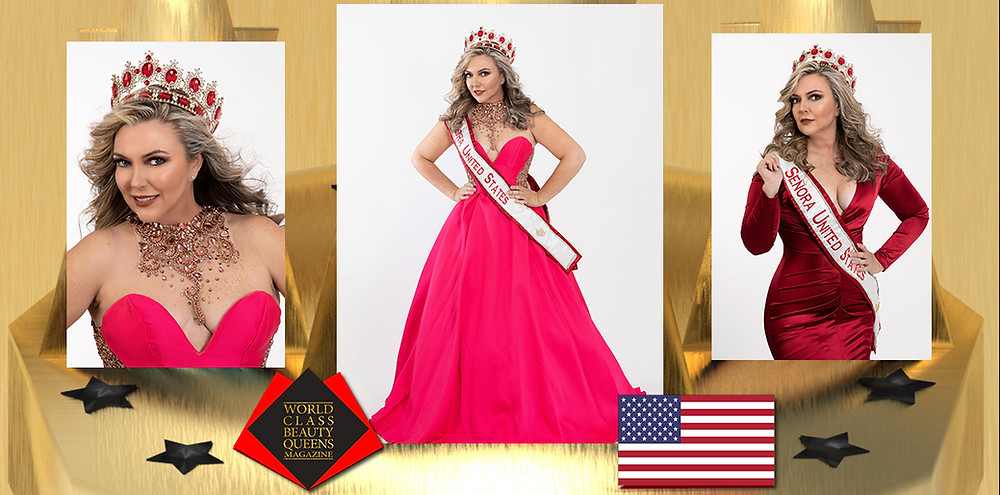 Mary Carmen Licon Mrs. Señora United States 2019, World Class Beauty Queens Magazine,