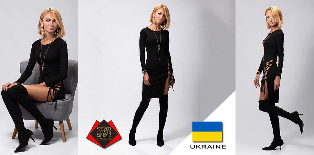 Model: Snizhana Sydoriak, World Class Models Magazine, George Eyo Photography