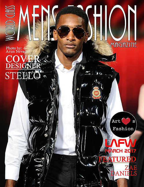 Issue 4 World Class Mens Fashion Magazine