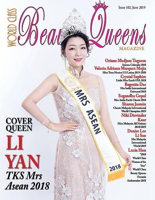 Issue 102 World Class Beauty Queens Magazine