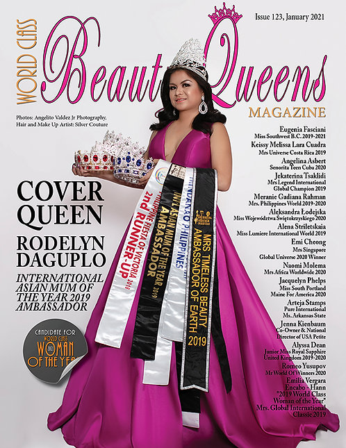 Issue 123 World Class Beauty Queens Magazine
