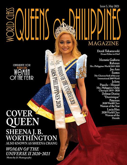 Issue 5 World Class Queens of Philippines Magazine