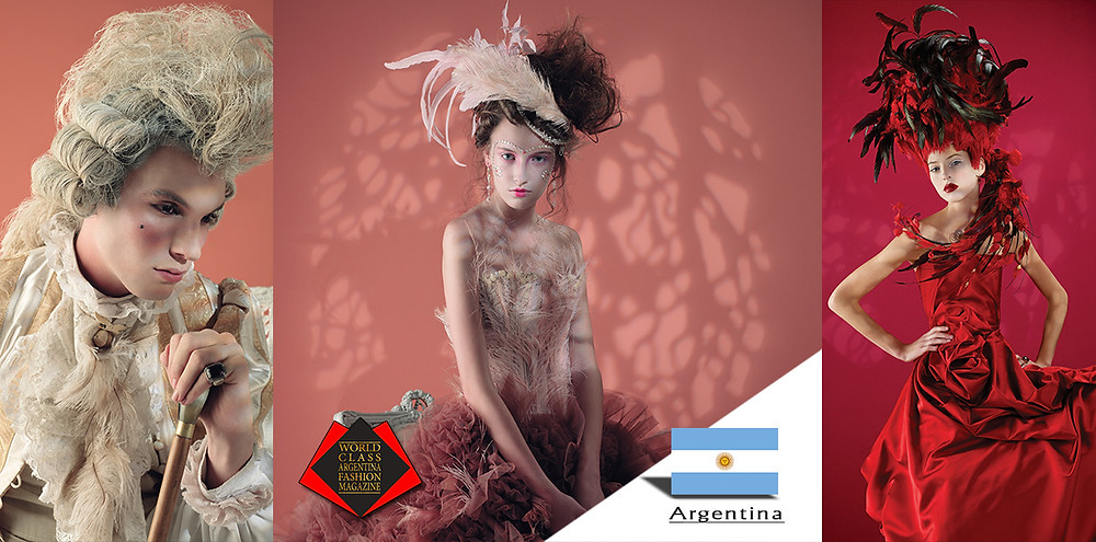 Maria Pryor, World Class Argentina Fashion Magazine
