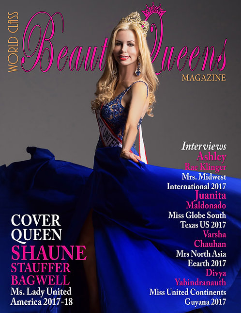 Issue 28 World Class Beauty Queens Magazine