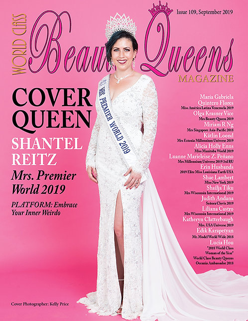 Issue 109 World Class Beauty Queens Magazine