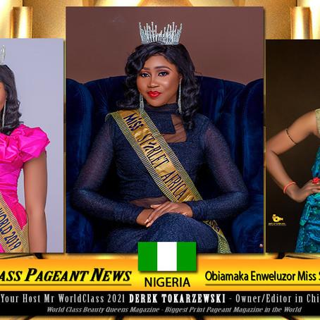 Obiamaka Enweluzor Miss Starlet Africa 2019