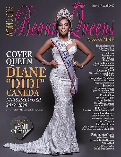 Issue 119 World Class Beauty Queens Magazine