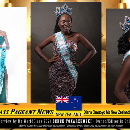 Diana Omuoyo Ms New Zealand World Universal 2021