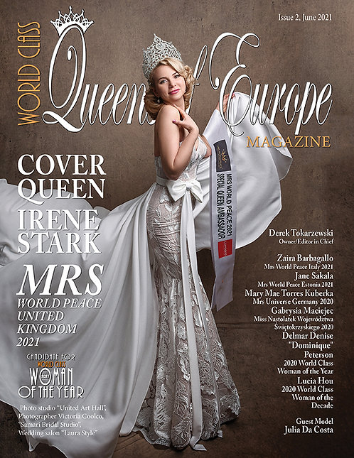 Issue 2 World Class Queens of Europe Magazine