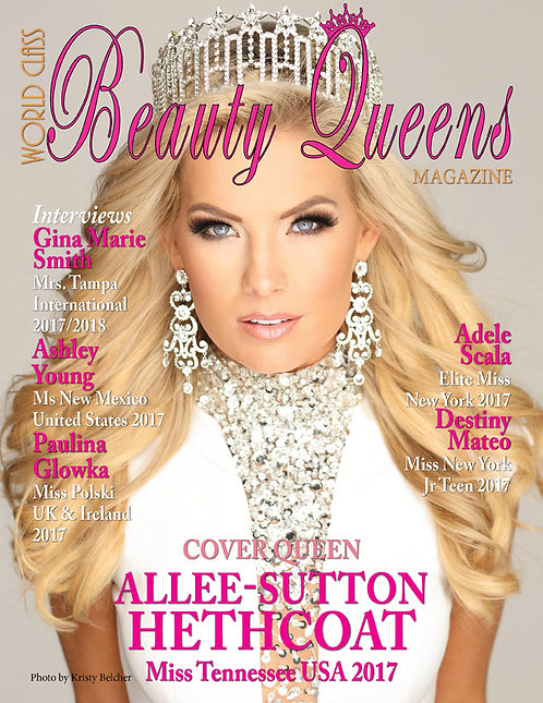 Issue 30 World Class Beauty Queens Magazine