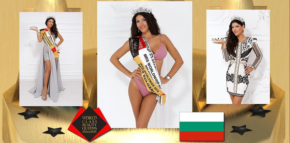 Lidia Yaneva Mrs. Worldwide Bulgaria 2019, World Class Beauty Queens Magazine