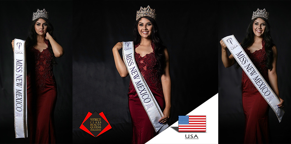 Erin Maestas Miss New Mexico Earth 2019, World Class Beauty Queens Magazine