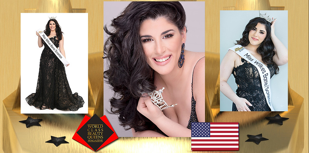Robyn Kass-Gerji Miss Wilkes-Barre/Scranton 2020, World Class Beauty Queens Magazine,