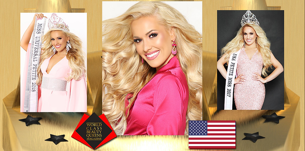 Co-Owner & National Director of USA Petite, Jenna Kienbaum, World Class Beauty Queens Magazine,