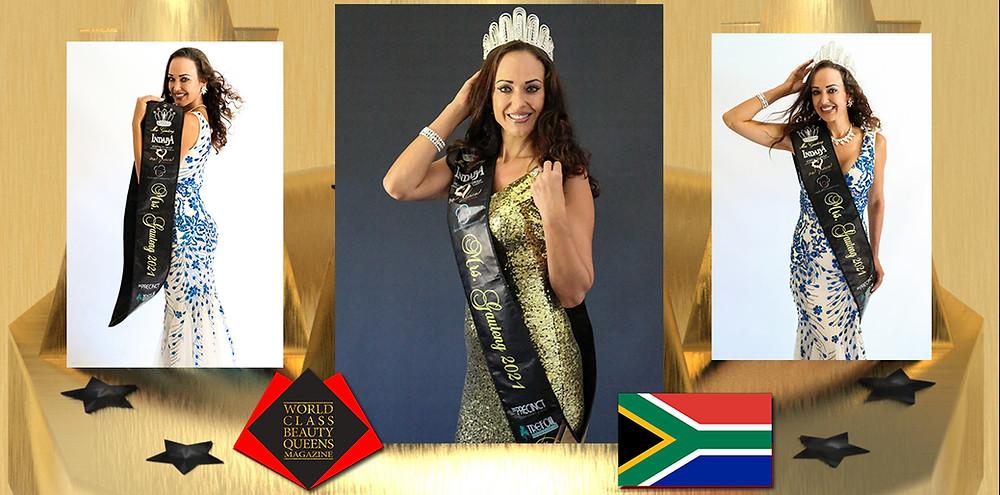 Jaci Tibbit Mrs Gauteng 2021, World Class Beauty Queens Magazine, Photo by by Novae Photography