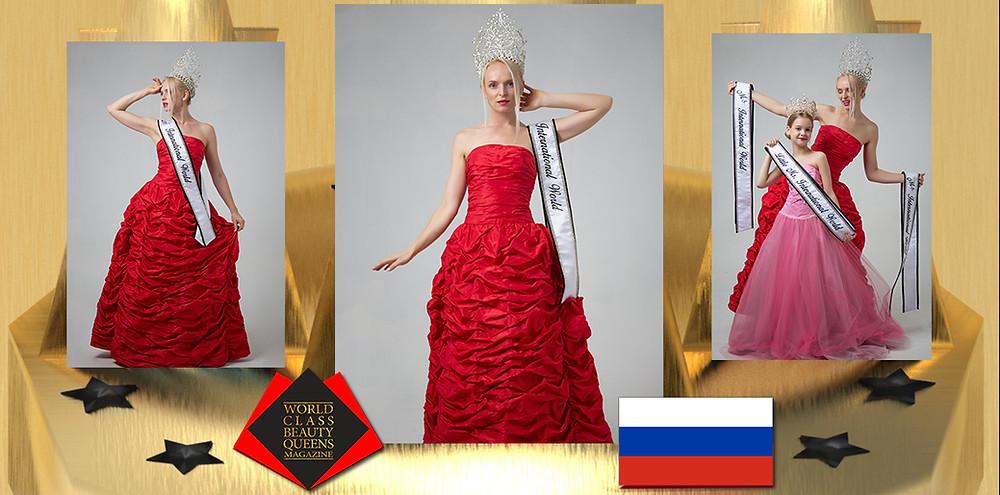 Gelsiniy Bareeva Ms International World 2019, World Class Beauty Queens Magazine, Photo by: Victor Monasterio