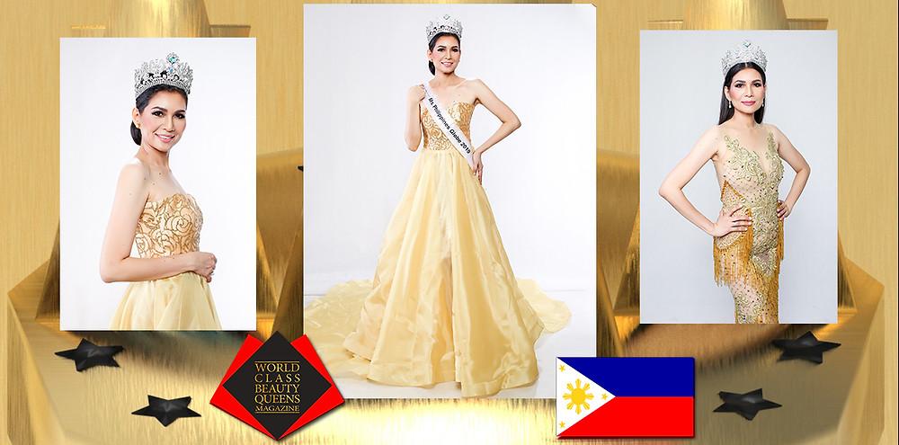 Julieta Pineda – Mirasol Mrs. Philippines Globe Classique 2019 -2020, World Class Beauty Queens Magazine,