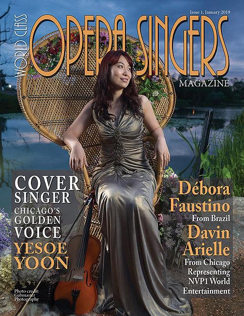 Issue 1 World Class Opera Singers Magazine