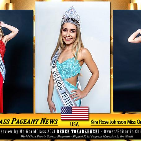 Kira Rose Johnson Miss Oregon Petite 2020