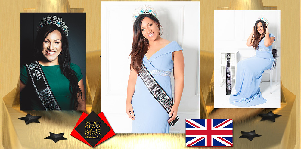 Natasha Neckles Pure International Ms United Kingdom 2019, World Class Beauty Queens Magazine,