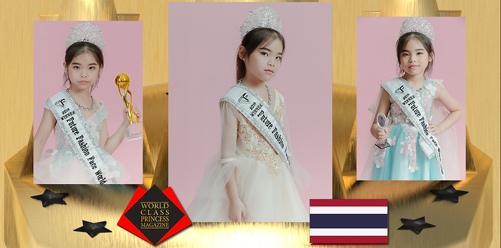 Suparada Paosatheanpan Mini Miss Future Fashion Face World 2019