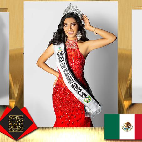 Estefania Gonzalez Rivas Miss Teen Mesoamérica Universe 2020