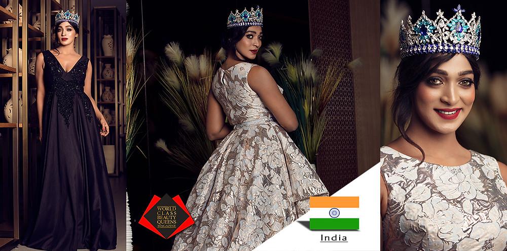 Vinodhini Krishnamoorthy Mrs. India Worldwide International 2018, World Class Beauty Queens Magazine,