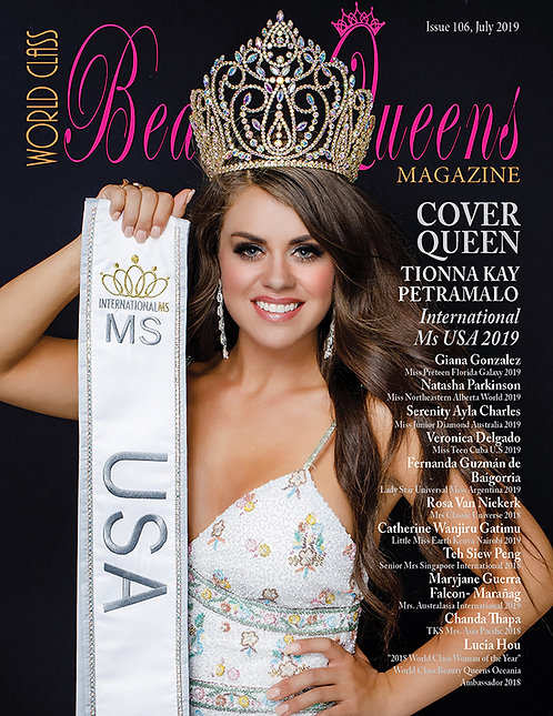 Issue 106 World Class Beauty Queens Magazine