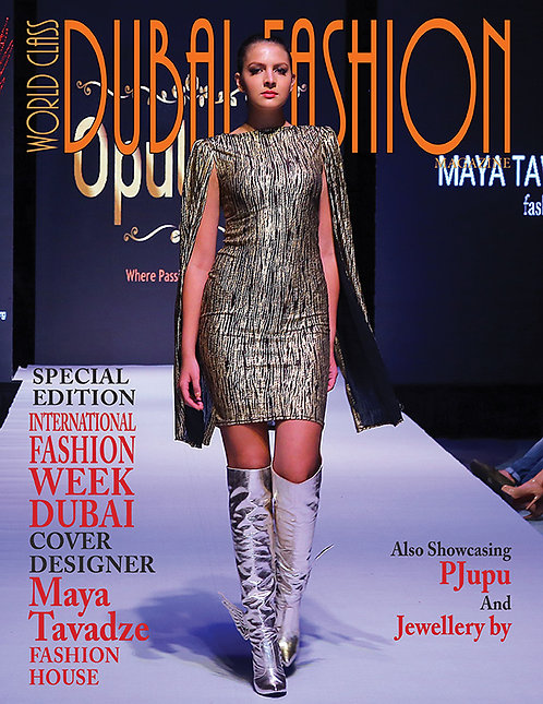 Issue 3 World Class Dubai Fashion Magazine