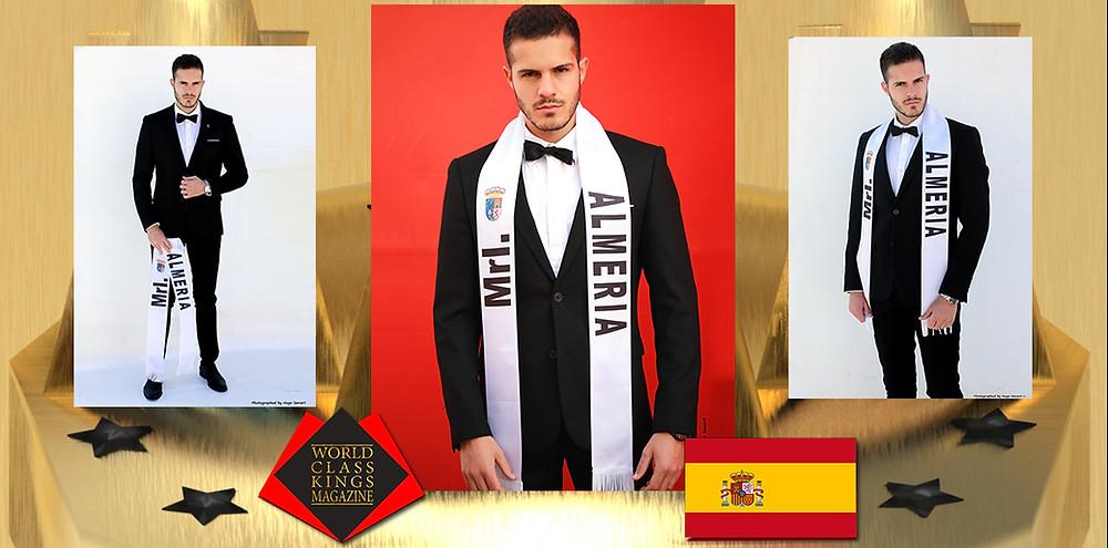 Daniel Romero Yélamos Mister International Almería 2019, World Class Kings Magazine,