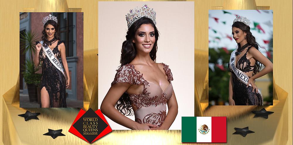 Estefania Carrillo Mrs. Mexico Globe 2019, World Class Beauty Queens Magazine,