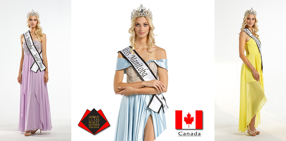 Alicia Holly Enns Miss Manitoba World 2019, World Class Beauty Queens Magazine,