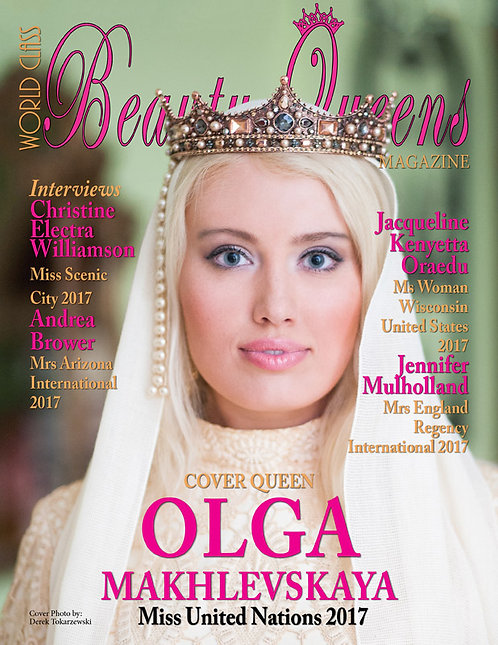 Issue 32 World Class Beauty Queens Magazine