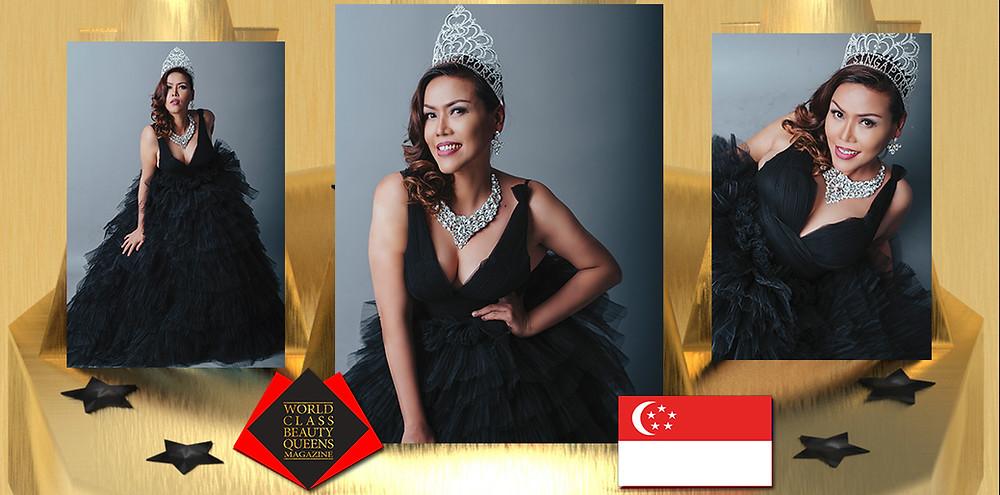 Eztelle Roche Kaye TKS Mrs Singapore Tourism International 2019, World Class Beauty Queens Magazine