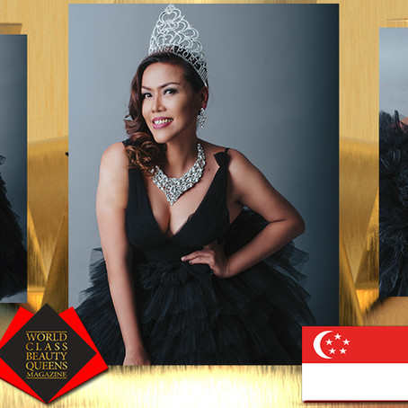 Eztelle Roche Kaye TKS Mrs Singapore Tourism International 2019
