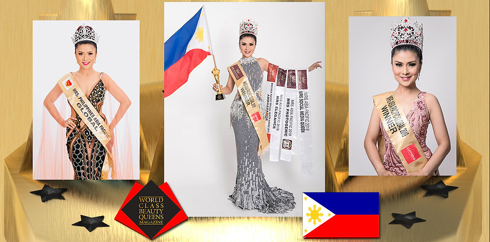 Avon Viray Morales Mrs. Asia Pacific Global 2019 Grand Winner, World Class Beauty Queens Magazine,