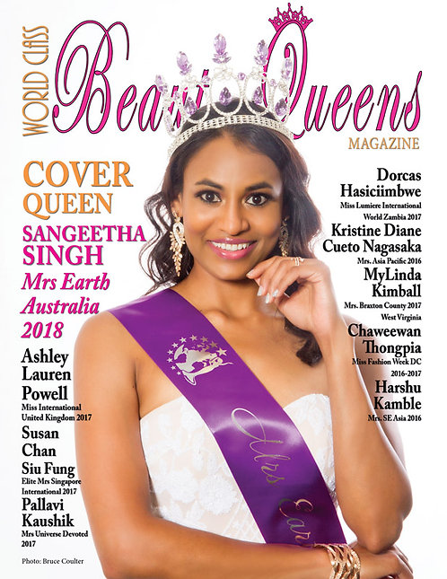 Issue 62 World Class Beauty Queens Magazine