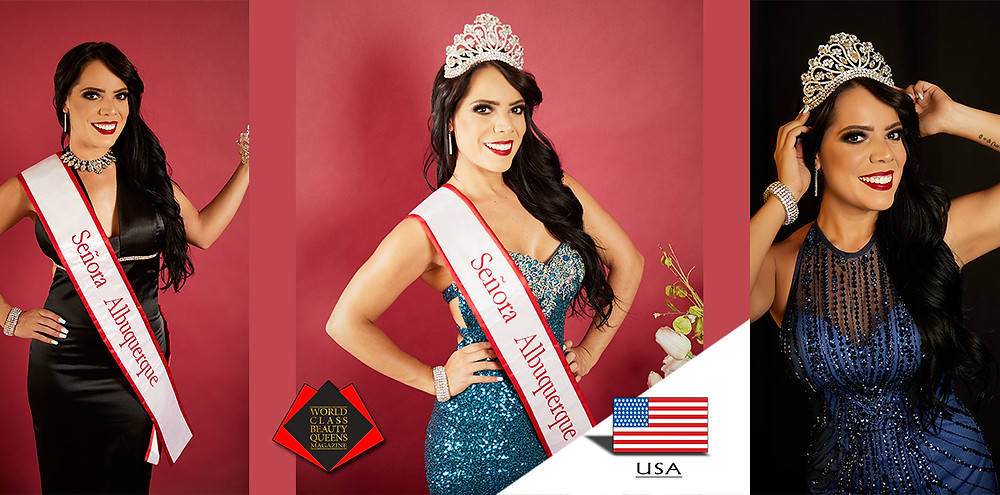 Liliana Castro Señora Albuquerque 2019, World Class Beauty Queens Magazine,