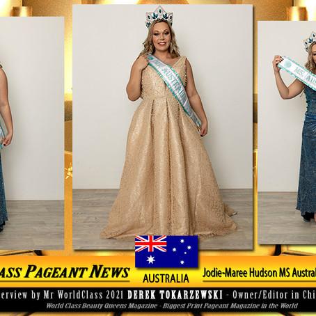 Jodie-Maree Hudson MS Australia Global World 2021