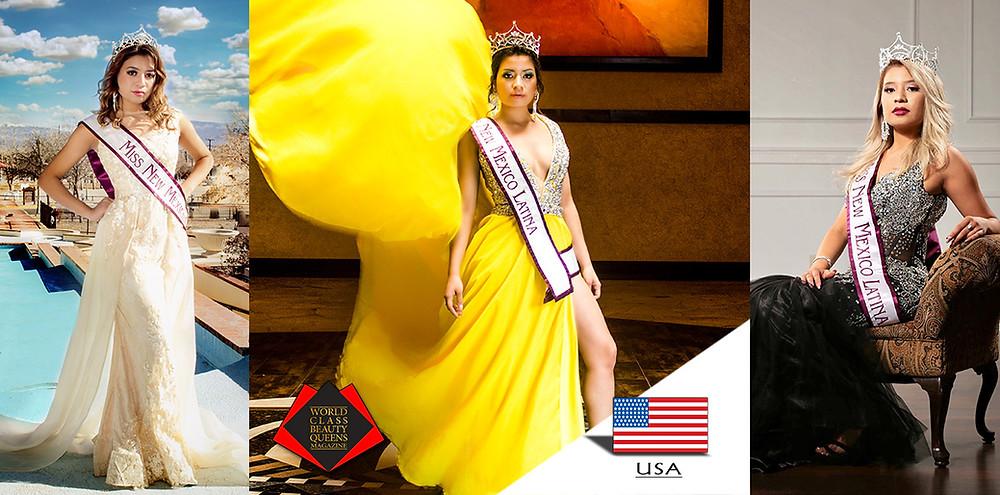 Dayana Maldonado, Miss New Mexico Latina 2018, World Class Beauty Queens Magazine, Photo by Stylle Photography