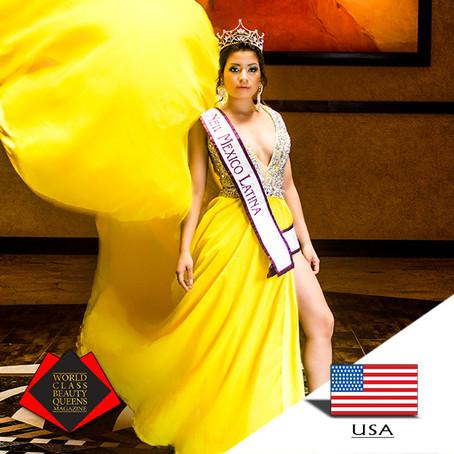Dayana Maldonado Miss New Mexico Latina 2018
