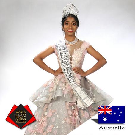 Arundhati Banerjee Miss Teen Diamond Australia 2019