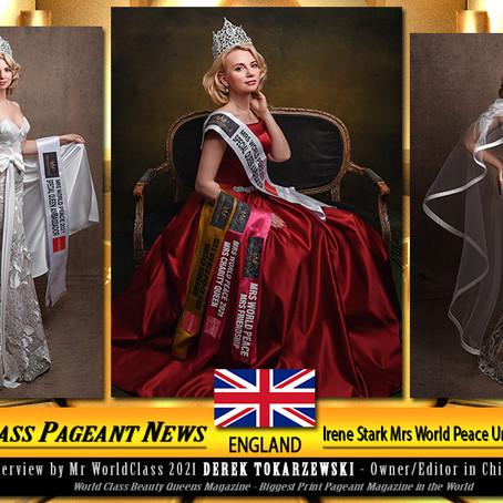 Irene Stark Mrs World Peace United Kingdom 2021